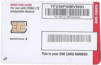 Tracfone Verizon 3G/ 4G LTE Activation SIM Card Kit - Standard/Micro/Nano