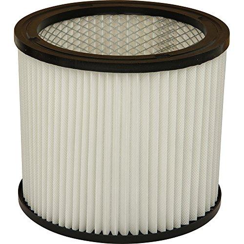 Lamellenfilter geeignet für Parkside Industriesauger. Auch passend für Einhell Staubsauger, AEG, Güde, Lavor, Metabo, Nevac, Rowenta, Tarrington-House und Variolux Nass- & Trockensauger