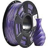 Filamento PLA filament de 1,75 mm, color púrpura, para impresora 3D PLA 1 kg