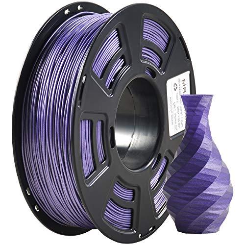 Filamento PLA 1,75 mm Sparkly Viola, GIANTARM 3D Stampante Filamento PLA 1 kg Spool