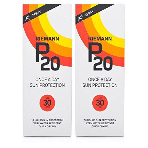 Riemann P20 Once a Day Sun Protection Lotion with SPF30, 200ml - 2 Pack