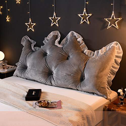 LOVE-CUSHION Dreieckige Keil Kissen,Keil Kissen kopfteil,DREI-dimensionale Bett rückenlehne Kissen,PP Baumwolle Waschbar,Für Schlafzimmer, Wohnzimmer, Büro F-120cm