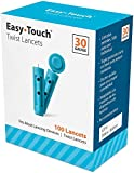 Easy Touch 30 Gauge Twist Lancets, 200 Count