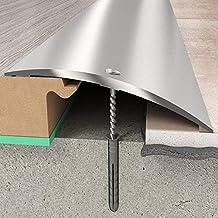 Overgangsprofiel 70 x 6,55 mm | aluminium profiel zilver | Overgangslijst bodemprofiel vloerprofiel aluprofiel zilver -930 mm