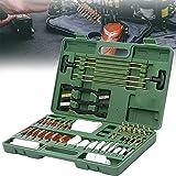 YNITJH Pistola Kit de Limpieza,Limpiador de Pistola,62 Piezas Rifle Pistol Escopeta Arma de Fuego Barril Mantenimiento Set de Limpieza,para Productos de Limpieza de Armas