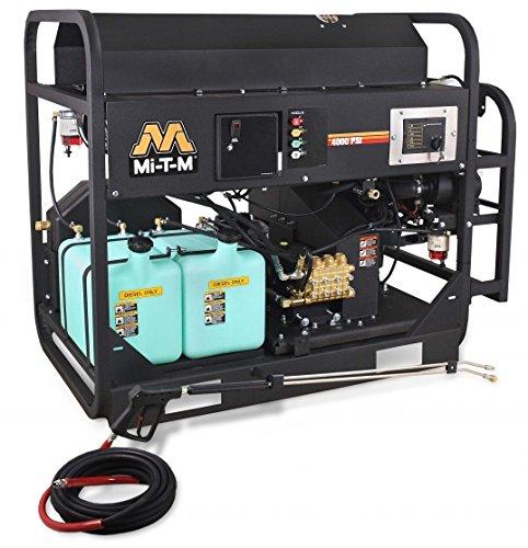 Buy Discount Mi-T-M HS-4005-0MDK Pressure Washer, Hot Water/Diesel/Oil Fired, 4000 psi, 4.5 GPM