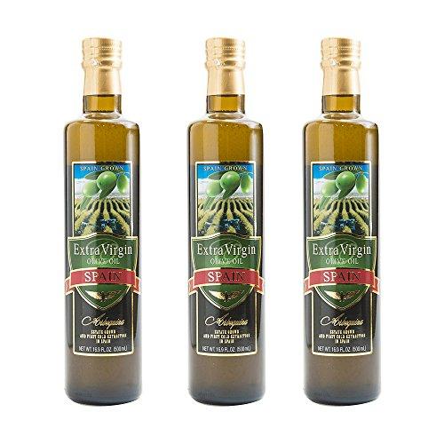 エキストラバージン オリーブオイル 500ml 3本 瓶 Olive Oil 食用油 調味料 業務用