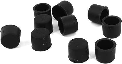 100 PCS M4 Wei/ß Nylon Kunststoff Schraubenmutter Sechskant Schutzkappen Abdeckung