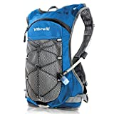 Vibrelli Hydration Pack & 2L Hydration Water Bladder - High Flow Bite Valve - Hydration Backpack with Storage...