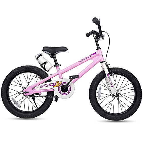 Find Bargain RoyalBaby Kids Bike Boys Girls Freestyle BMX Bicycle With Kickstand Gifts for Children ...