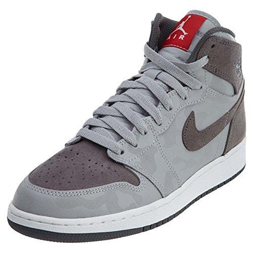 Nike Nike - Air Jordan 1 Retro Hi PR - 822858027 - Farbe: Grau-Silber - Größe: 38.5