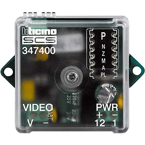 Inbouwcamera-interface coax/2-draads voor externe camera van video-deurintercom