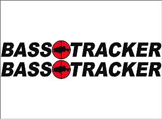 bass tracker decals