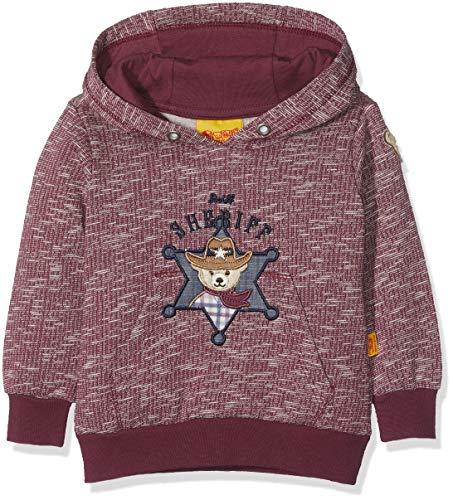 Steiff Steiff Baby-Jungen 1/1 Arm Sweatshirt, Rot (Burgundy Red 2761), 86