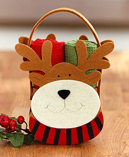 ARRIVALS 3-Pc. Kitchen Towel Gift Set, Reindeer