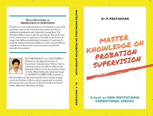 MASTER KNOWLEDGE ON PROBATION SUPERVISION: A book on Non-Institutional Correctional Service (Probation Service 1) (English Edition)
