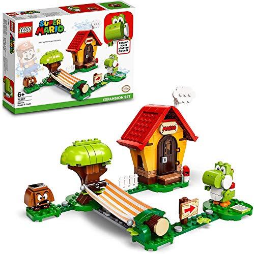 LEGO Super Mario Casa e Yoshi - Pack di Espansione, Giocattolo, Set di Costruzioni, 71367