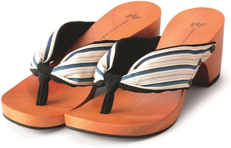 MIZUTORI Japanese Style Sandals Shimashima