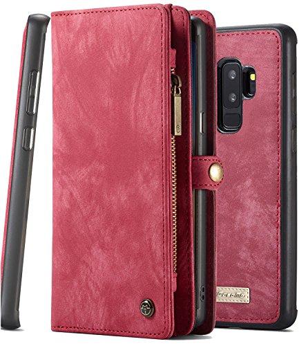 XRPow Galaxy S9 Plus Leather Folio Case