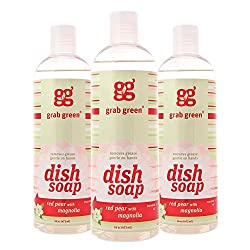 Grab Green Natural Liquid Dish Soap,Biodegradable