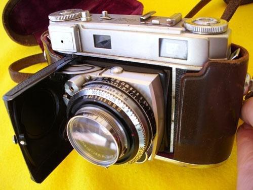 Antigua Cámara Kodak Retina III C. F 2/50 mm