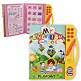 PLUSPOINT ABC Sound Book for Children, English Letters & Words Learning Book, Fun Educational Toys....