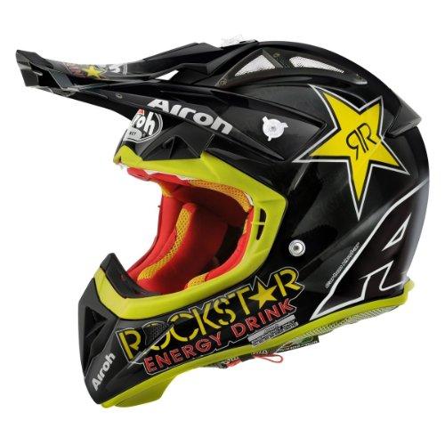 Airoh Terminator 2.1Rockstar Motocross-Helm 60-L schwarz (Rockstar)