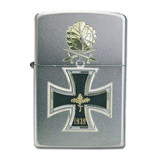 Zippo Ritterkreuz 1939 mit Eichenlaub Feuerzeug, Chrom, Silber, 6 x 3.5 x 2 cm
