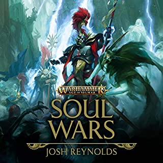 Soul Wars     Warhammer Age of Sigmar, Book 1              By:                                                                                                                                 Josh Reynolds                               Narrated by:                                                                                                                                 Andrew Wincott                      Length: 16 hrs and 49 mins     74 ratings     Overall 4.6