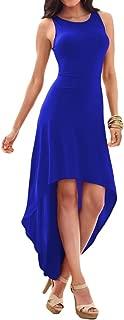 Best royal blue high low dress Reviews