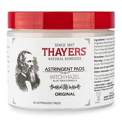 Thayers Thayers Original Witch Hazel Astringent Pads With Aloe