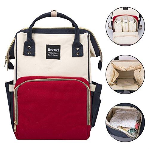 Multifunction Mummy Maternity Diaper Nappy Bag Baby Nursing Backpack Handbag