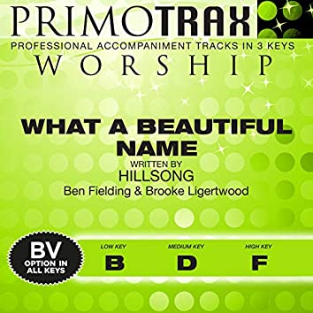 What a Beautiful Name (Performance Tracks) - EP