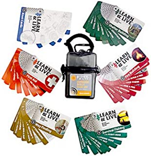 Ultimate Survival Technologies 20-02752 Gry Outdoor or Outer Skills Card Set - Quantity 4