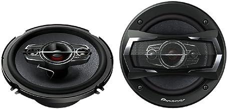 Pioneer TS-A1685R 350 Watts 4-Way Car Speakers, 6 1/2 Inch – 6 3/4 Inch, 1 Pair..