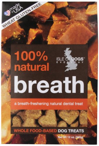 Isle Of Dogs 100% Natural Breath Dog Treats, 12 Ounce