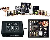 Make Your Gin Geschenkset Geschenkbox Gin zum Selbermachen - 11 Botanicals + Bar Trichter +...