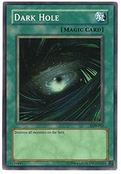 Yu-Gi-Oh! - Dark Hole  LOB-052  - Legend of Blue Eyes White Dragon - Unlimited Edition - Super Rare