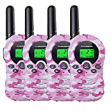 floureon Walkie Talkies for Kids 22 Channel Walkies Talky for Outdoor Camping/Hunting/Fish