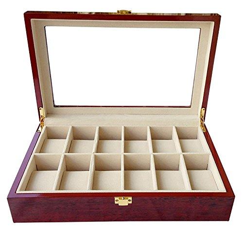 Feibrand Uhrenbox aus Holz von Feibrand für 12 Uhren