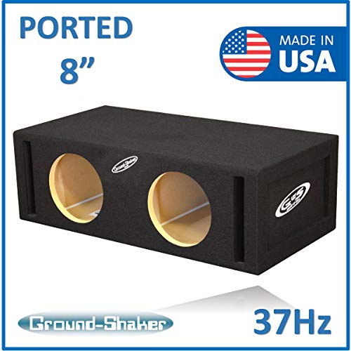 "8"" Dual ported subwoofer Box 37-Hz"