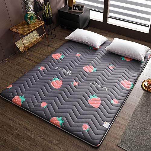 Folding Tatami Mattress Single Double Anti-slip Floor Mat Sleeping Pad Nap Japanese Futon Mattresses For Living Room Dormitory E 100x200cm(39x79inch)
