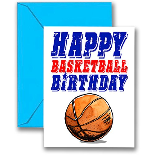 Play Strong Sports 3-Pack Basketball Star Birthday Cards 3-Pack (5x7) Birthday Greeting Cards - Awesome for Players, Coaches and Fans Birthdays, Gifts and Parties! #AllProfitsToHelpKids