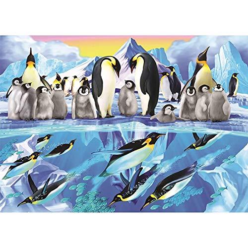 Pinguin 1000-Teiliges Puzzle Für Erwachsene Kinder, Großes Puzzle Intellektuelles Lernspiel Schwierig Und Herausforderung
