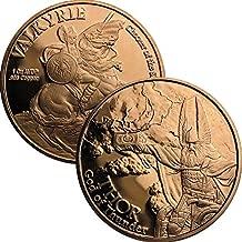 Jig Pro Shop Norse God Series 1 oz .999 Pure Copper Round/Challenge Coin