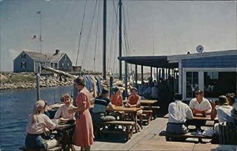 Thompson Brothers Clam Bar, Wychmere Harbor Harwich Port, Massachusetts Original Vintage Postcard
