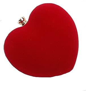 Best red love heart clutch bag Reviews