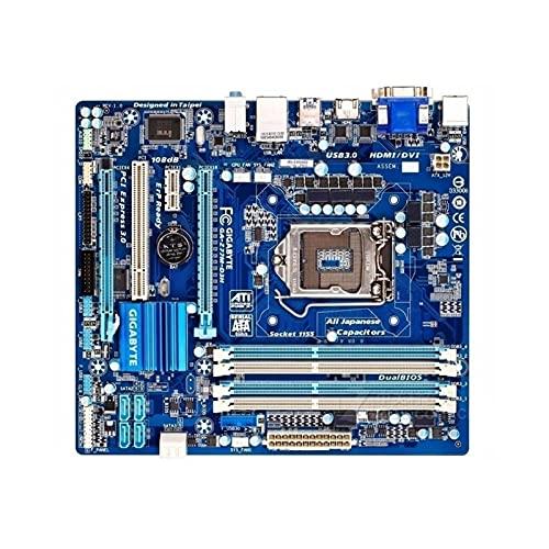 lilili Placa Base Placa Base para computadora Compatible Fit for Gigabyte GA-Z77M-D3H Placa Base de Escritorio Original usada Z77M-D3H Z77 zócalo LGA 1155 DDR3