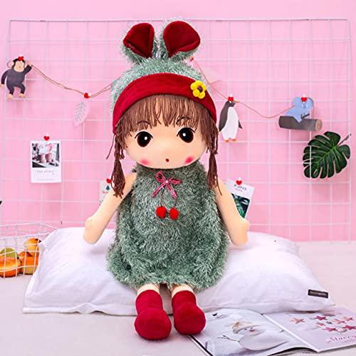 ZHAOMIAO Hermoso Sombrero Kawaii muñecas Suave Lindo Vestido Hecho a Mano Juguetes de Peluche de Peluche para niños bebés niñas cumpleaños 70cm D