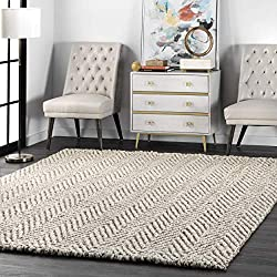 what is a jute rug? Jute with herringbone pattern